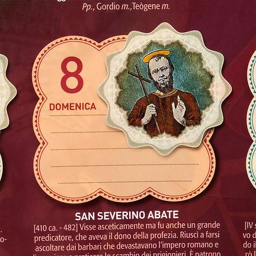 Un Anno di Santi Calendario 2012 5
