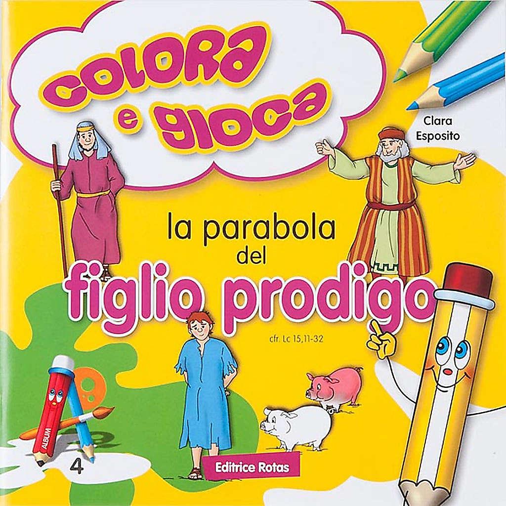 Colore a Parábola do Filho Pródigo 4