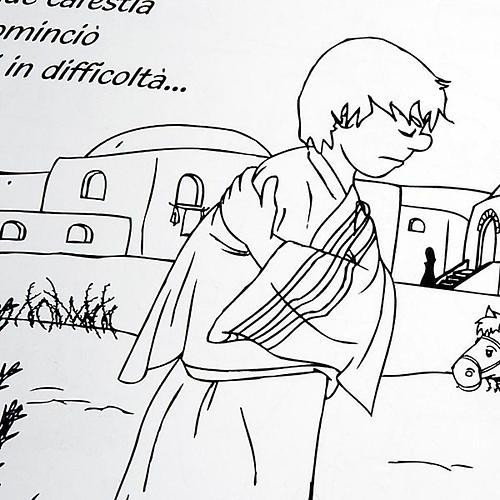 Colore a Parábola do Filho Pródigo 2