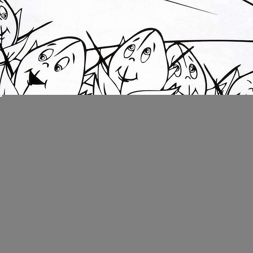 Colora la parabola del Granello di Senapa 4