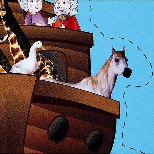 Chi c'è nell'Arca di Noè? 2-6 anni 2