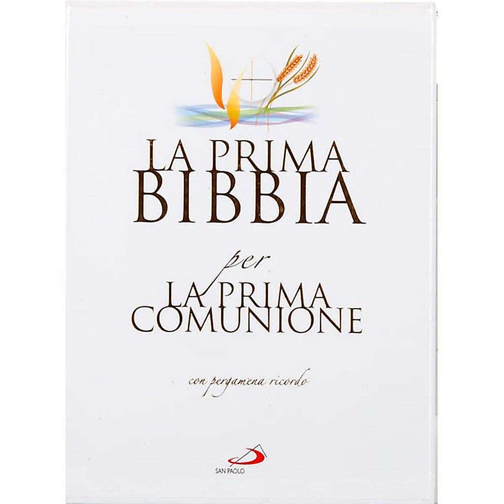 Primera Biblia para la Primera Comunión con pergamino 4