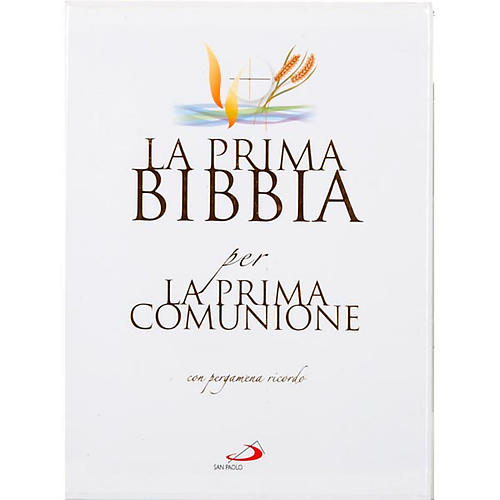 Primera Biblia para la Primera Comunión con pergamino 1