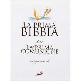 Prima Bibbia per la Prima Comunione con pergamena s1