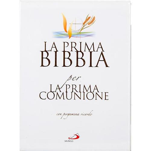 Prima Bibbia per la Prima Comunione con pergamena 1