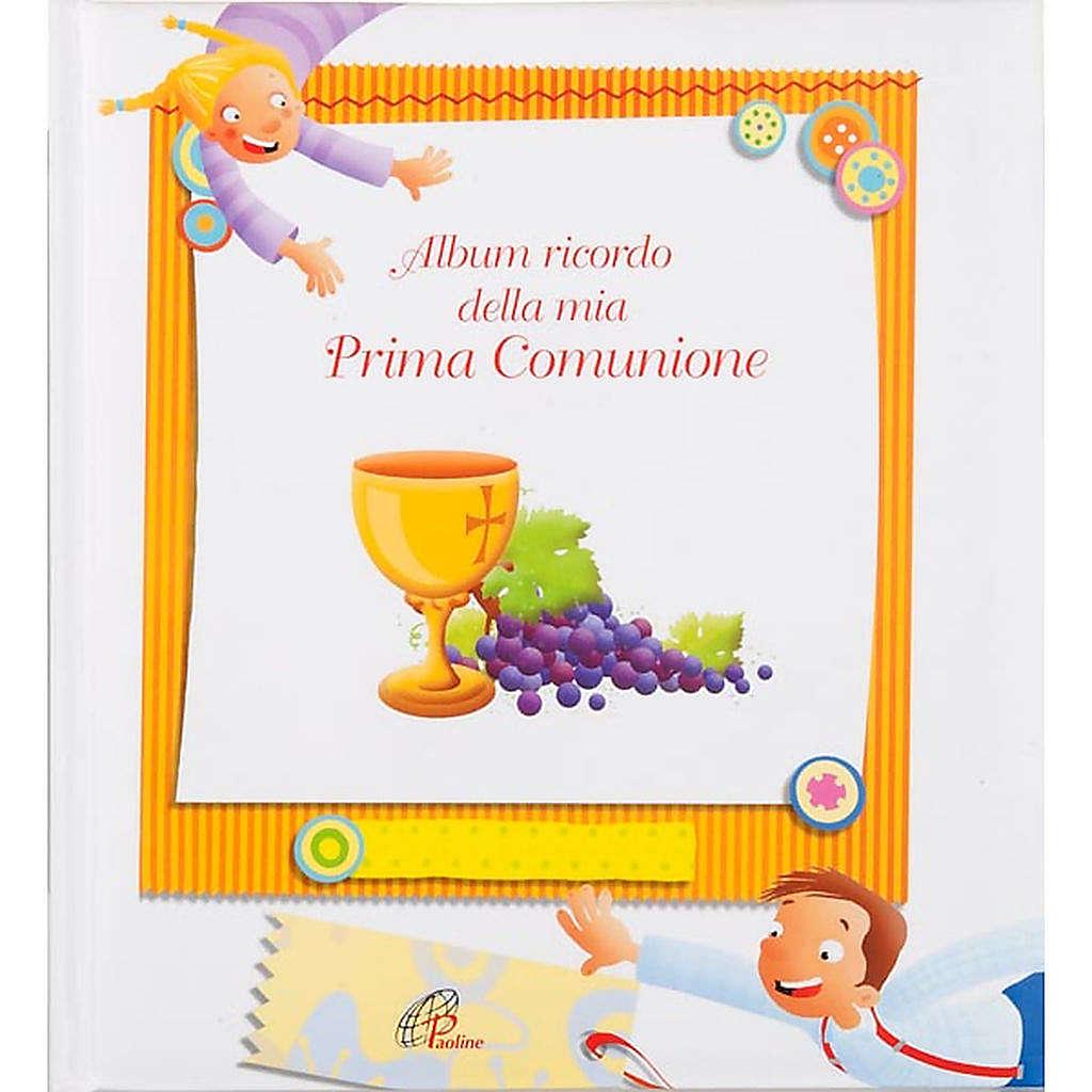 Album souvenir de la première communion ITALIEN 4
