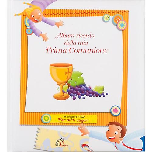 Album souvenir de la première communion ITALIEN 1
