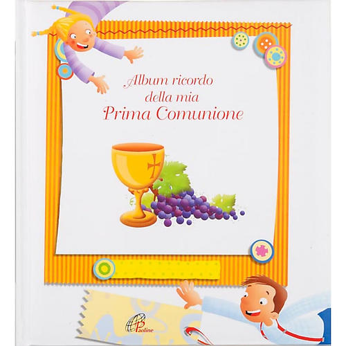 Album souvenir de la première communion ITALIEN 5