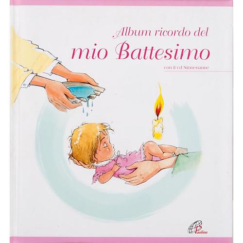 Album ricordo del mio Battesimo + CD 4