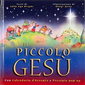 Pequeño Jesús Calendario belén pop up s1