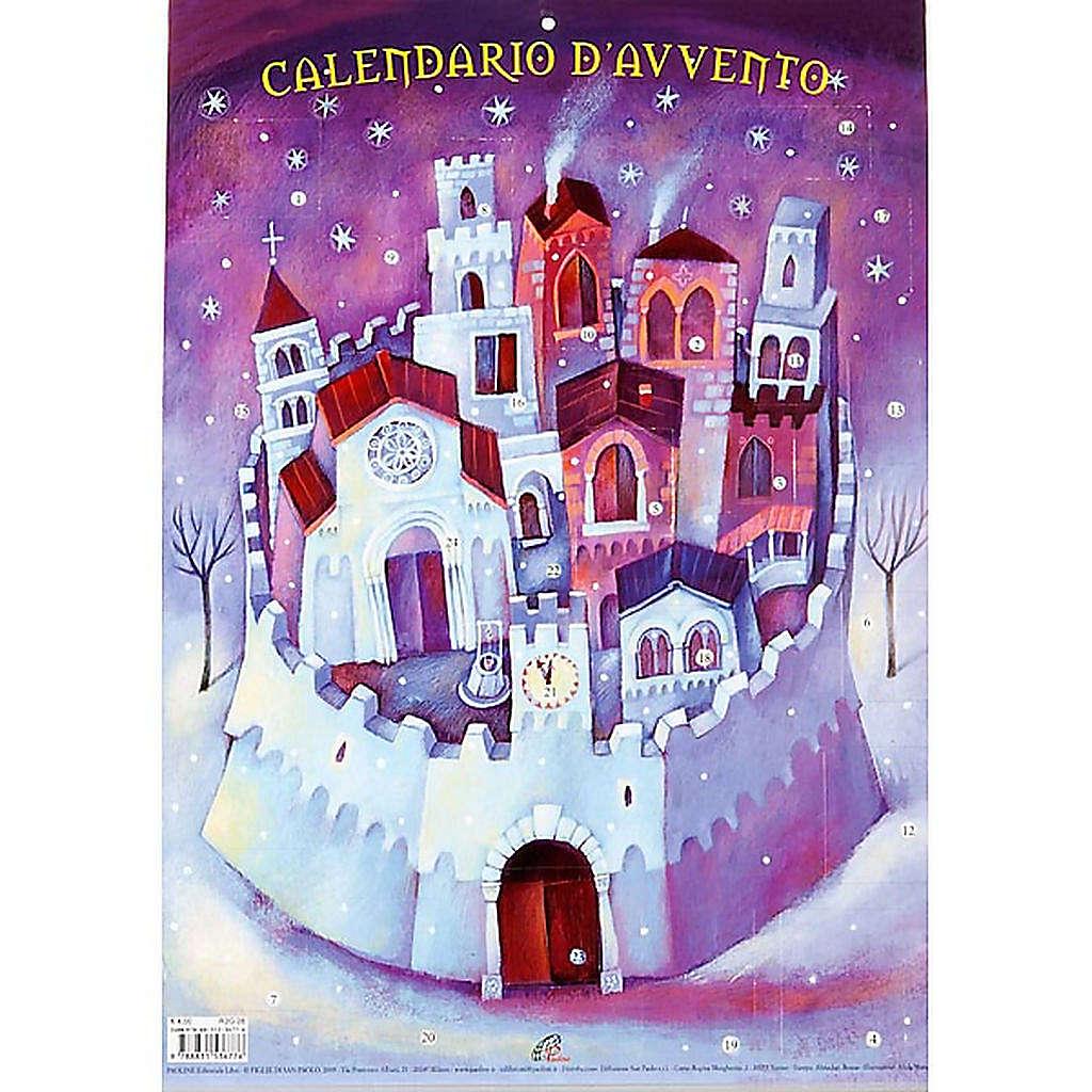 Calendario del Adviento castillo 4