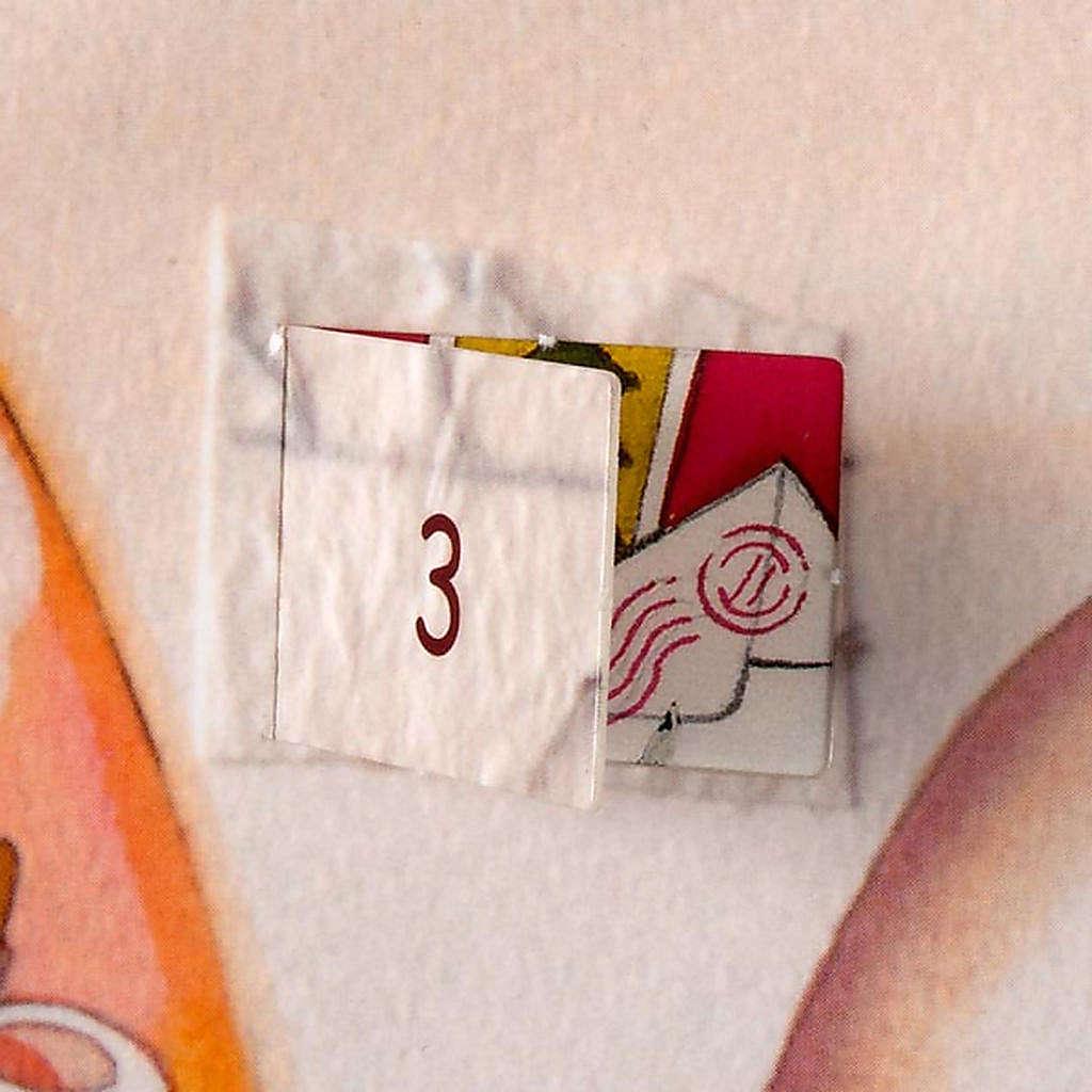 Calendrier de l'Avent, collage ITALIEN 4