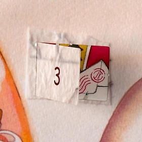 Calendrier de l'Avent, collage ITALIEN s2