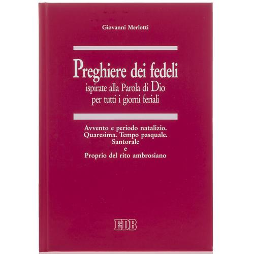 Preghiere dei fedeli Tempo Avvento, Natalizio, Quaresima, Pasqua 1