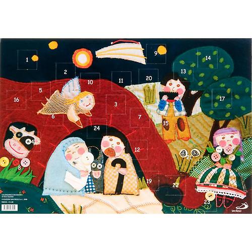 Calendario avvento patchwork 1