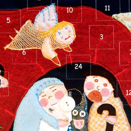 Calendario avvento patchwork 2