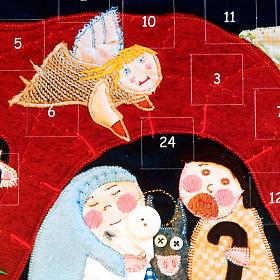 Calendário Advento estilo patchwork s2