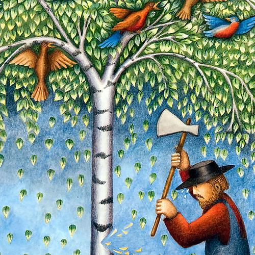 Leggenda dei tre alberi 2