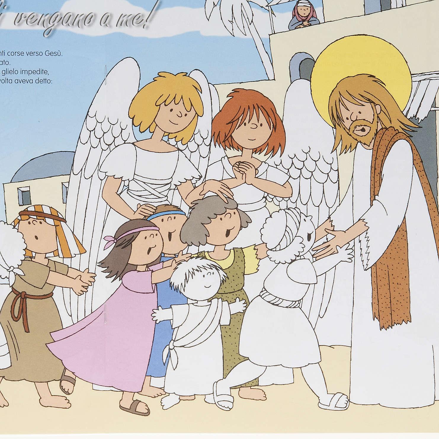 Colora gli angeli amici di Gesù 4