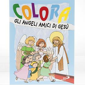 Colora gli angeli amici di Gesù s1