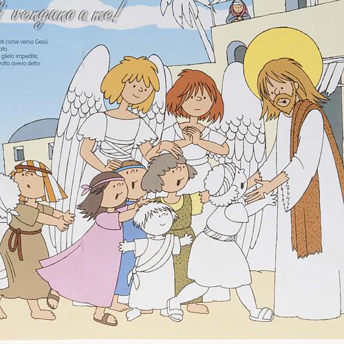 Colora gli angeli amici di Gesù 3