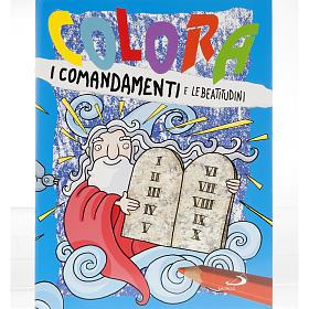 Colora i comandamenti e le Beatitudini s1