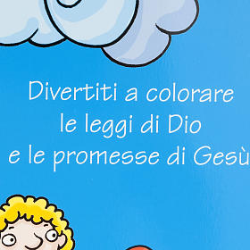 Colour the commandments and the Beatitudes s2