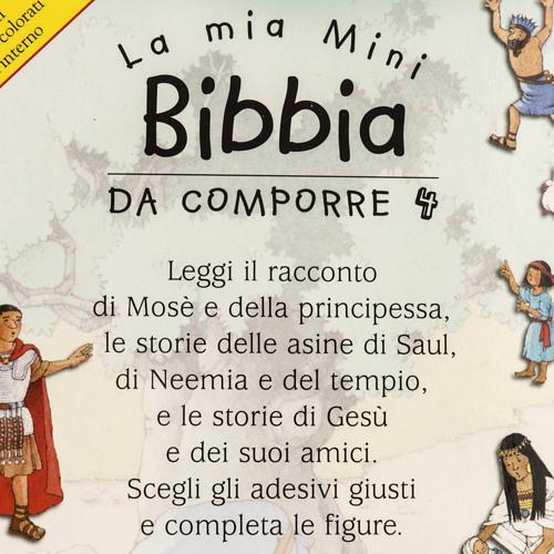 La Mia Mini Bibbia da comporre 4 2