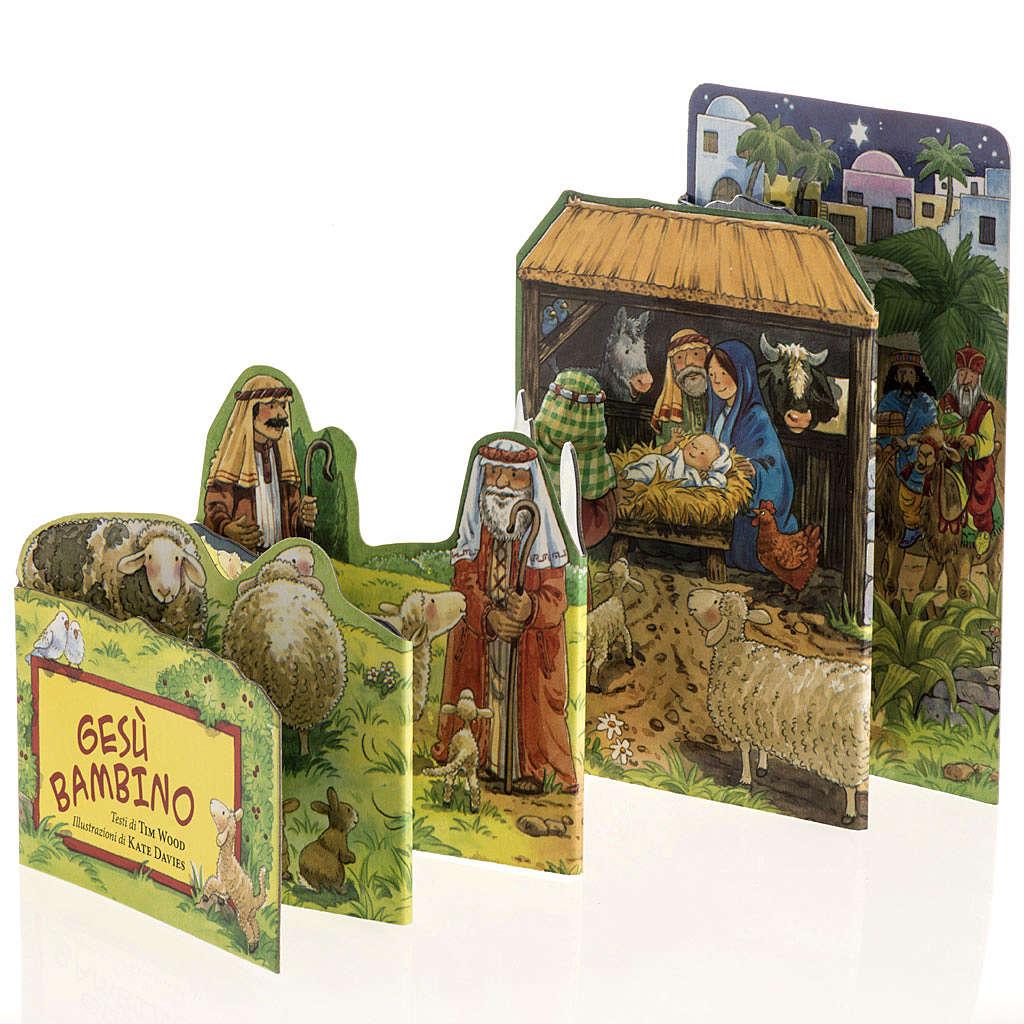 Gesù Bambino libro pop up 4