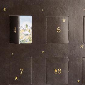Calendario dell'Avvento presepe Pop Up Tridimensionale s5