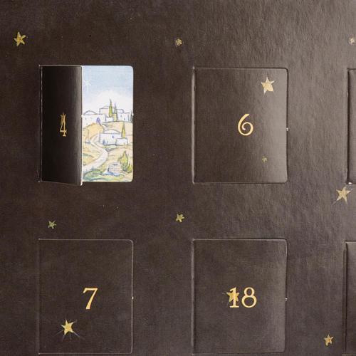 Calendario dell'Avvento presepe Pop Up Tridimensionale 5