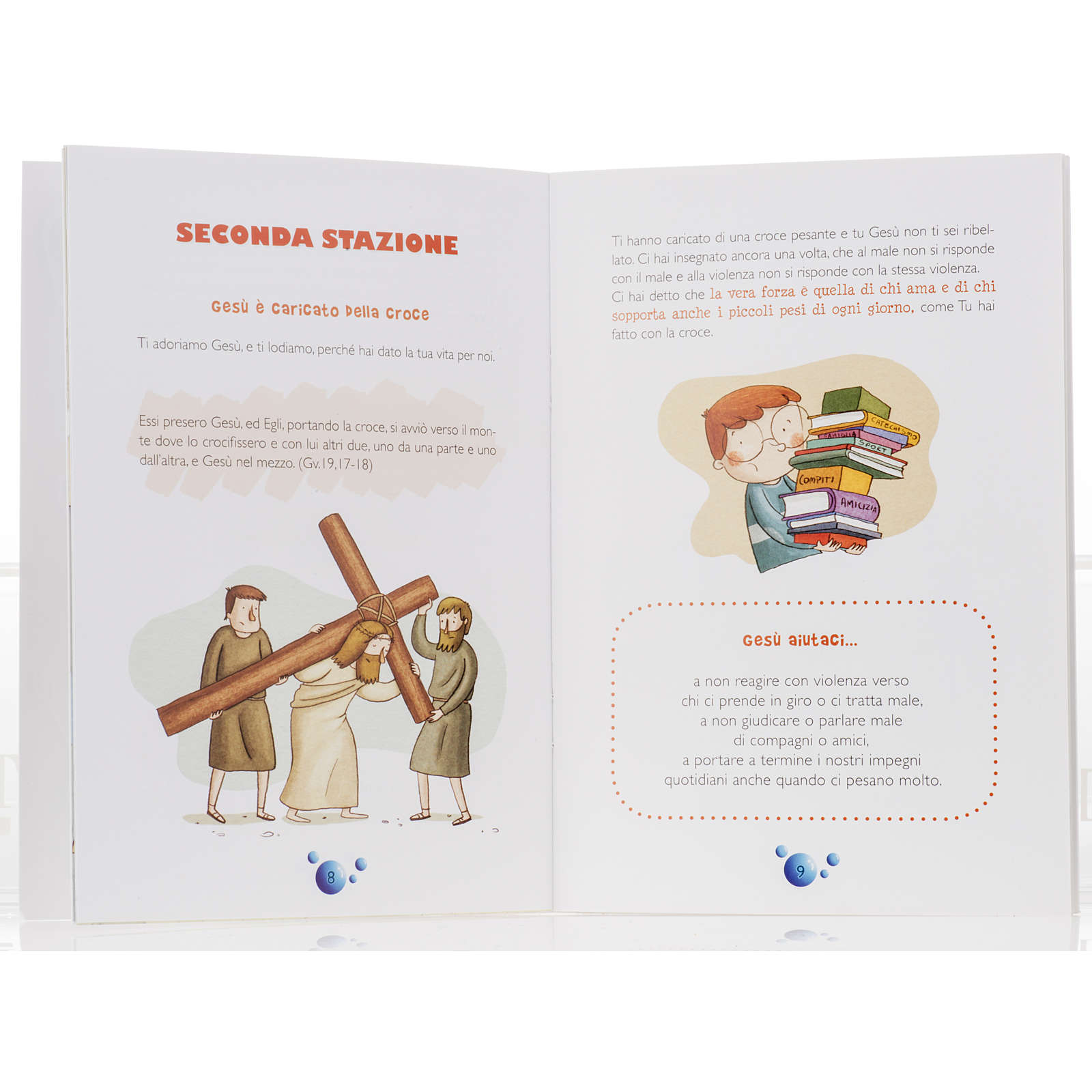 Via Crucis explained to children 4