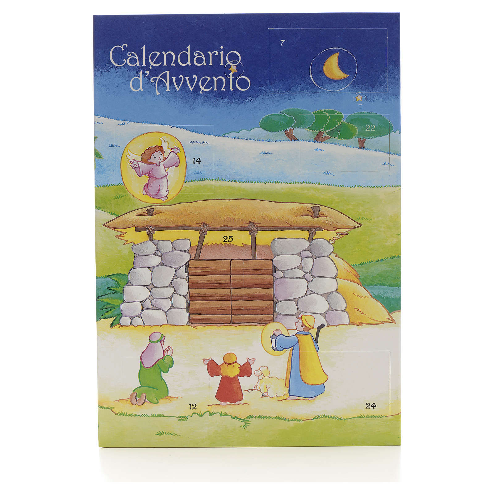 Calendario d'Avvento mini patchwork 4