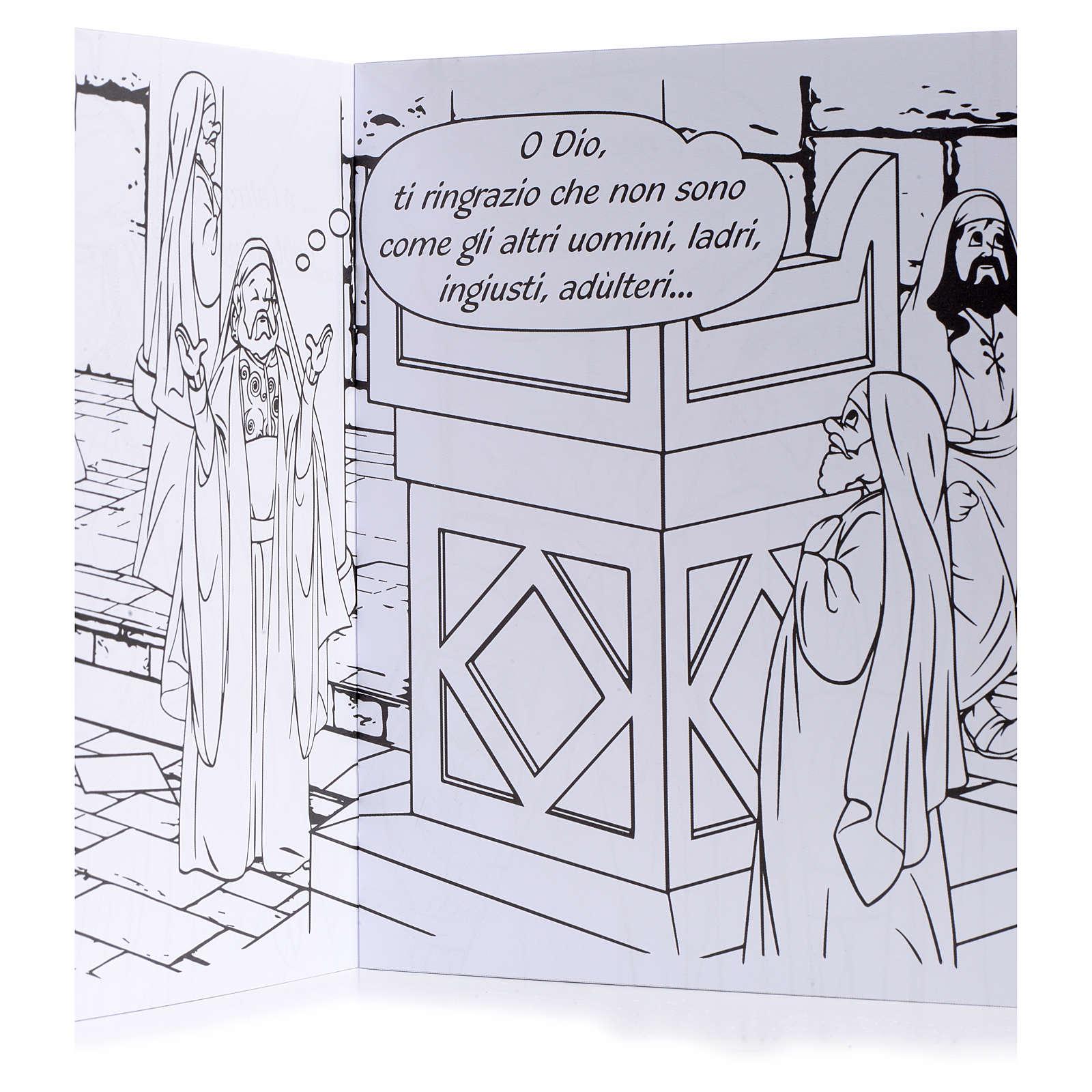Colora la parabola del fariseo e del pubblicano 4