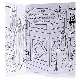 Colora la parabola del fariseo e del pubblicano s3