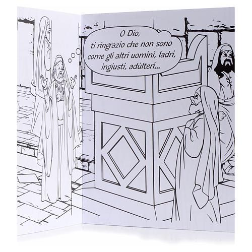 Colora la parabola del fariseo e del pubblicano 3