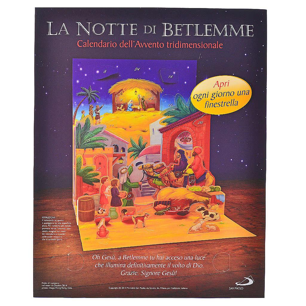 Calendario de Adviento 3D La noche de Belén 4