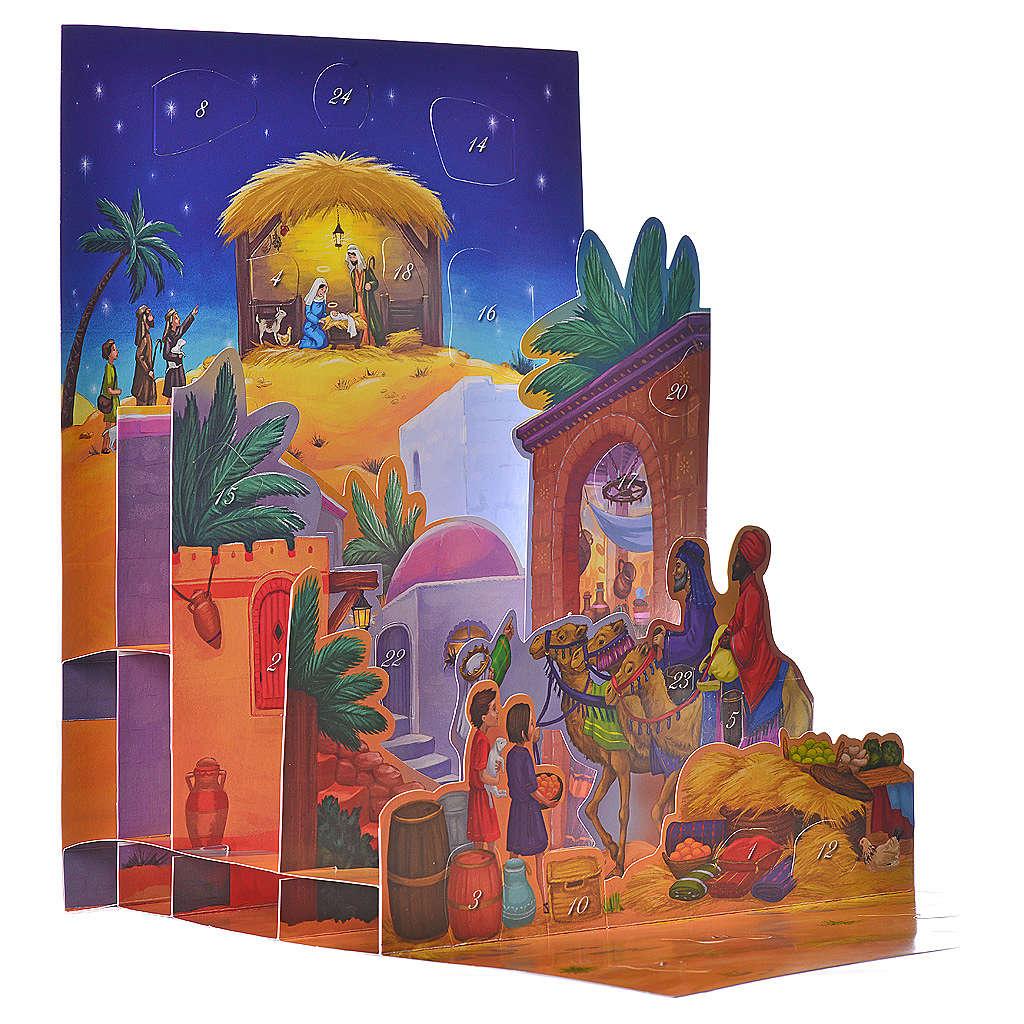 Calendario dell'Avvento 3D La notte di Betlemme 4