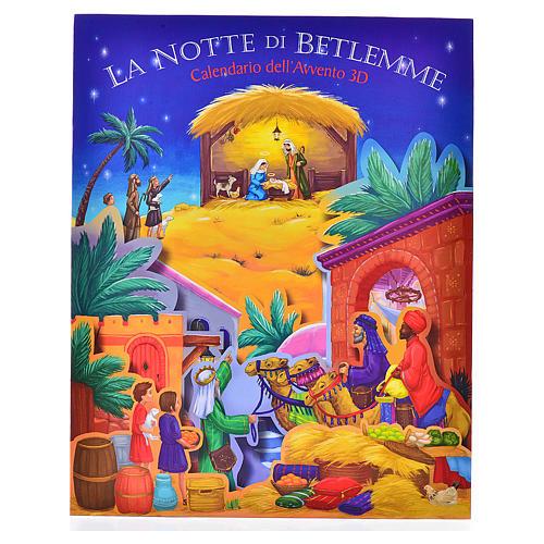 Calendario dell'Avvento 3D La notte di Betlemme 1