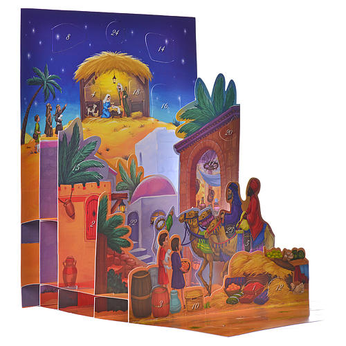 Calendario dell'Avvento 3D La notte di Betlemme 2