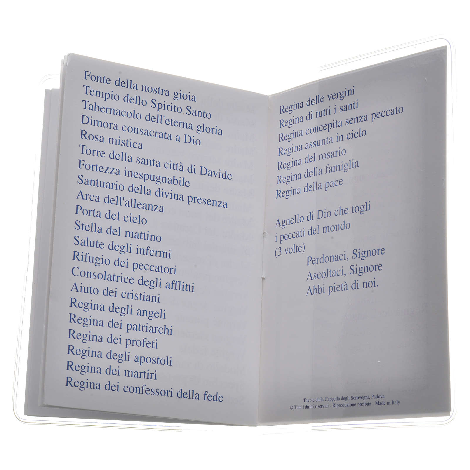 Libretto Santo Rosario 6,5x9,5cm San Giovanni Paolo II 4