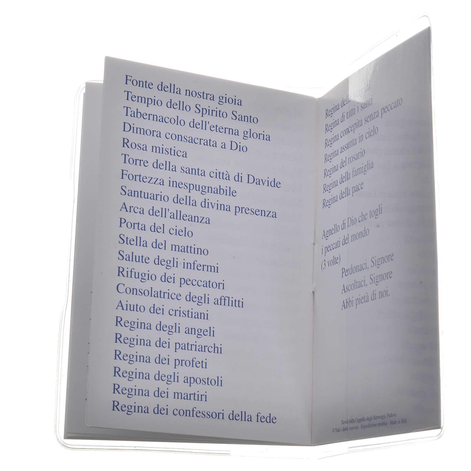 Livre Saint Rosaire Marie qui défait les noeuds 6,5x9,5cm IT 4