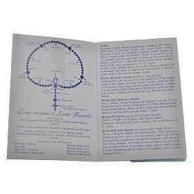 Librito Santo Rosario San Juan XXIII con rosario s2
