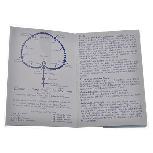 Librito Santo Rosario San Juan XXIII con rosario 2
