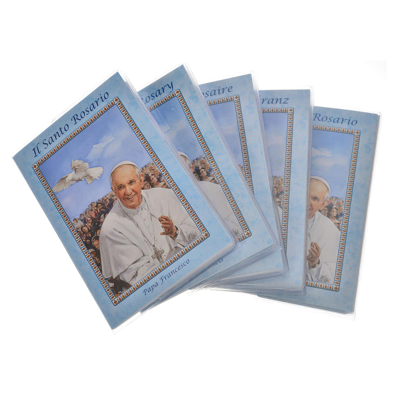 Librito Rosario Papa Francisco con rosario 4