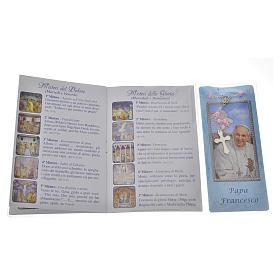 Librito Rosario Papa Francisco con rosario s3