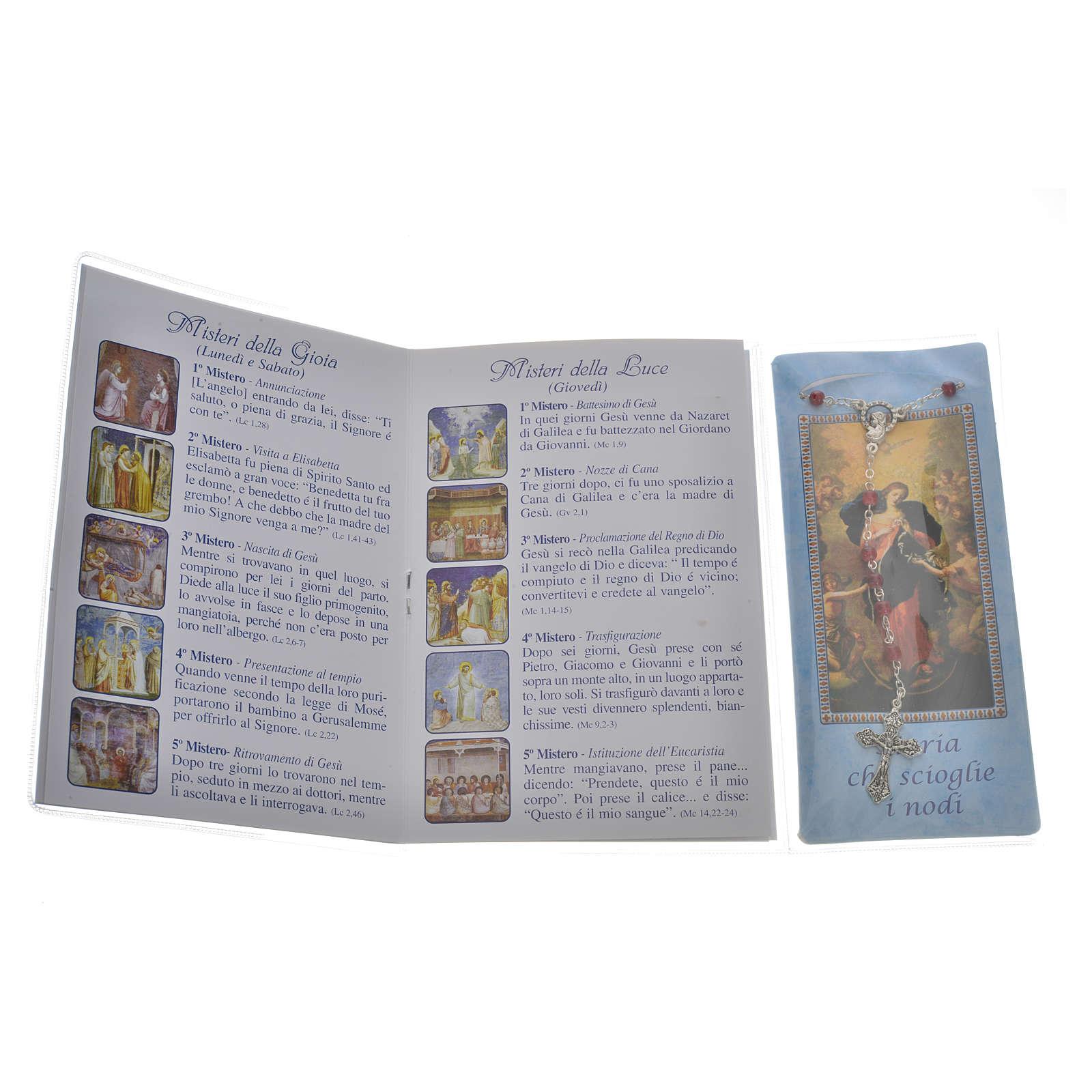 Libretto Rosario Madonna scioglie nodi e rosario 4