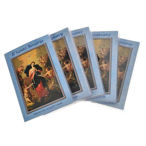 Libretto Rosario Madonna scioglie nodi e rosario 1
