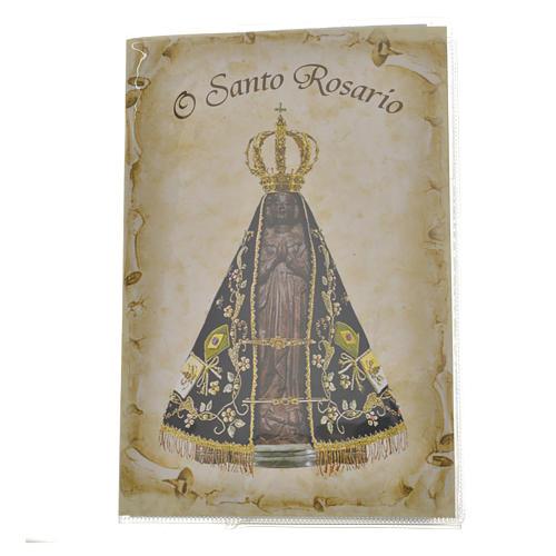 Libretto con rosario O Santo Rosario PORTOGHESE 1