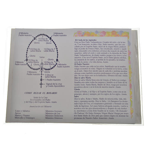 Libretto con rosario Santo Rosario Giovanni P. II 2